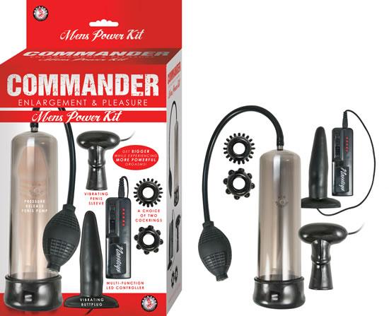 Commander Mens Power Kit