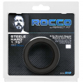 Rocco Steele Hard 1.75 Black Silicone Cockring