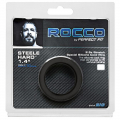 Rocco Steele Hard 1.4 Black Silicone Cockring