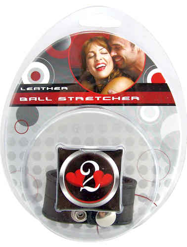 "Ball Stretcher Leather 1"" Black"