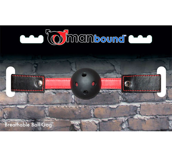Manbound Breathable Ball Gag