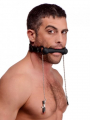 Silicone Bit Gag with Nipple Clamps