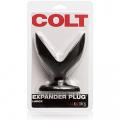 Colt Expander Anal Plug Large Black 5 Inch