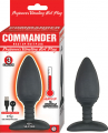 Commander Beginner Silicone Vibrating Hot Plug Waterproof