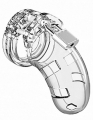 Man Cage Model 01 Male Chastity With Lock Clear 3.5 Inch