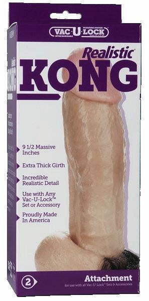 Kong , The Realistic Dildo Vac-U-Lock Modular