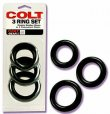 Colt Gear 3 Thick Cock Ring Set
